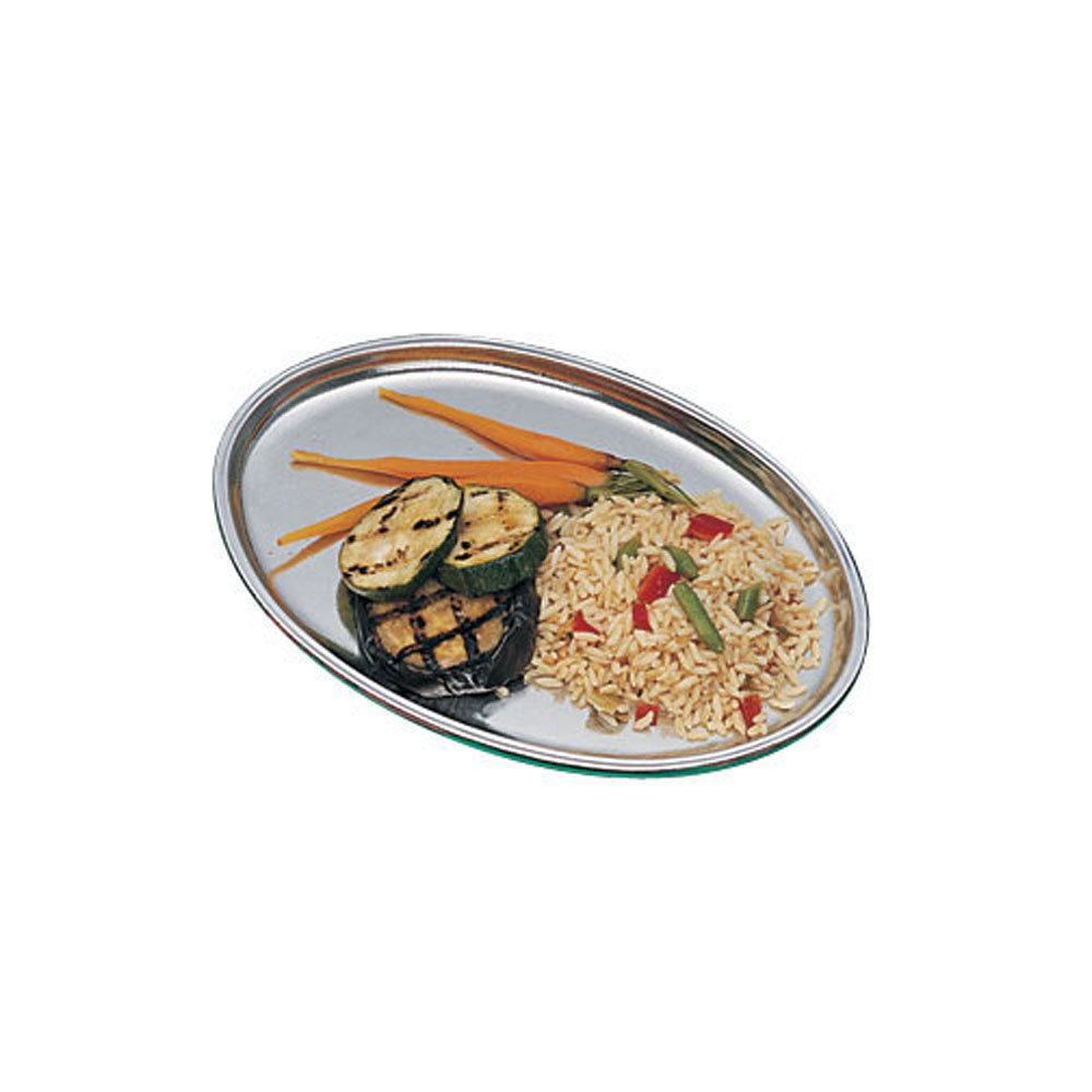 7 3/4 x 11 inch Oval Platter Sandstone Ivory