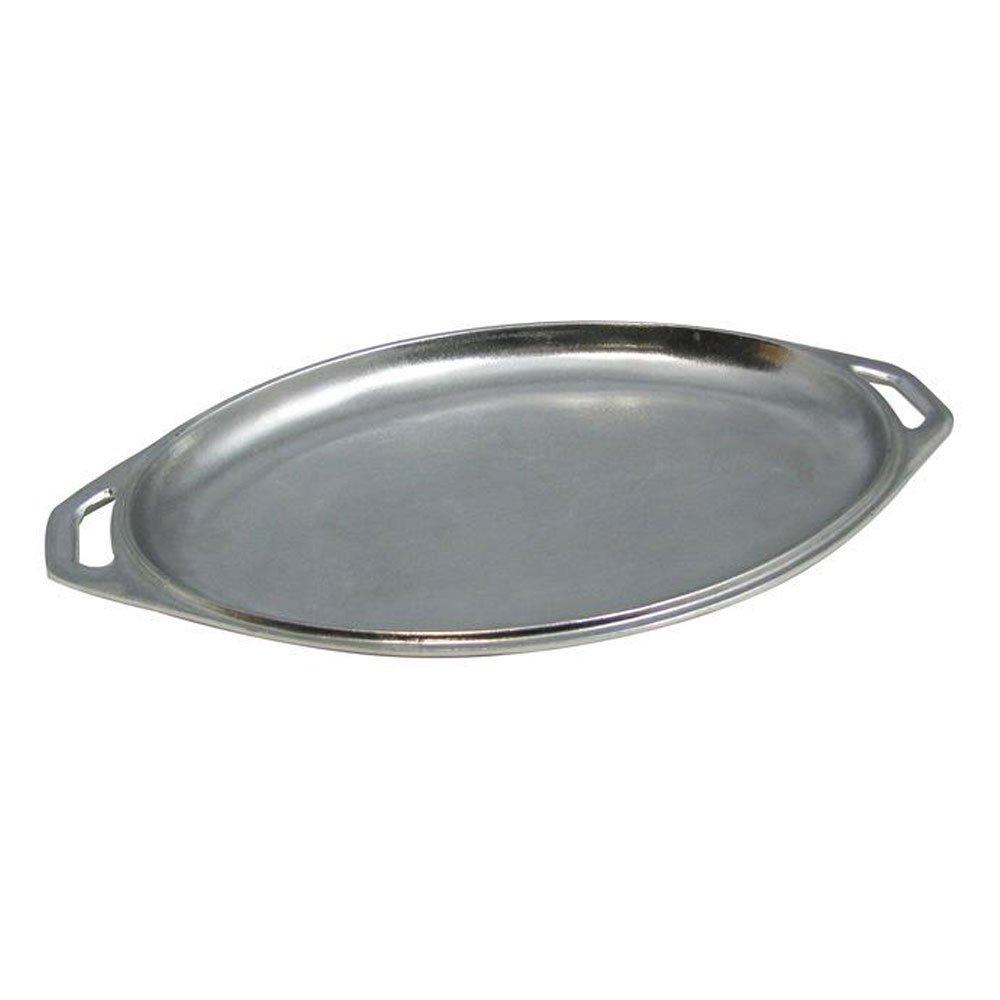 9 x 15 inch Oval Platter / Cover Sandstone Dark Blue