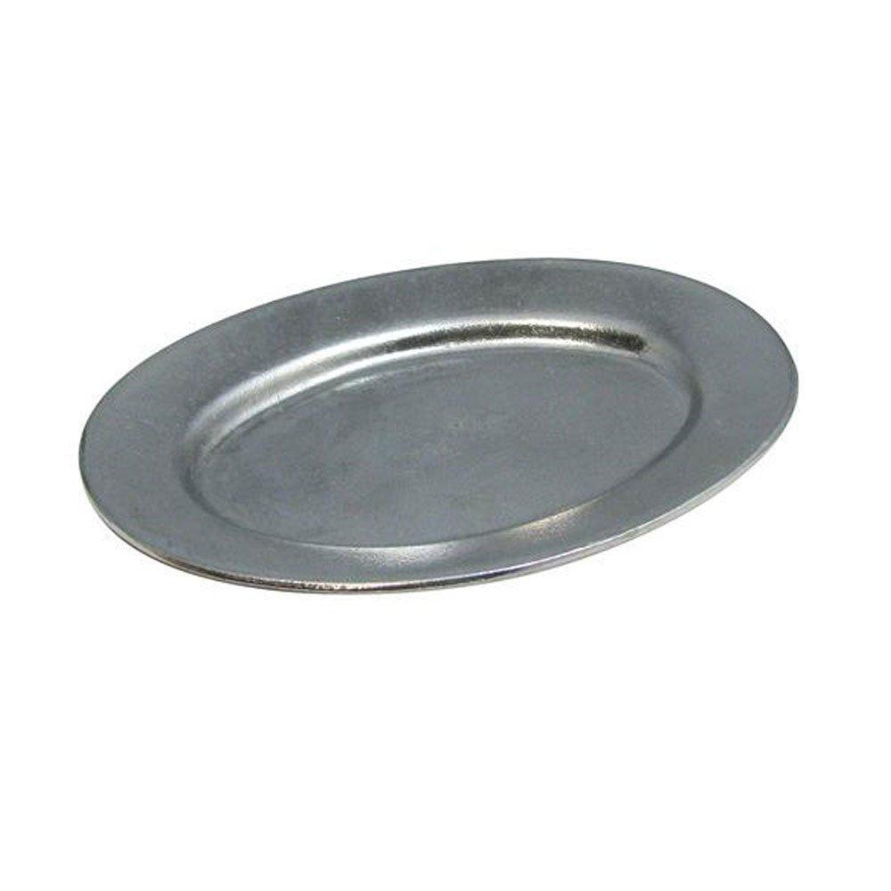 4 1/2 x 6 1/2 inch Baked Potato Platter Sandstone Hunter Green