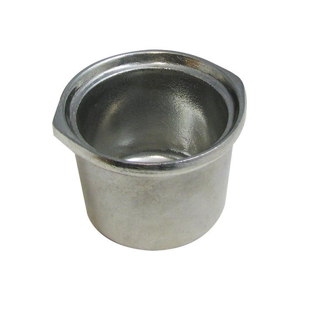 10 oz 4 inch Marmite Bowl Pewter Glo
