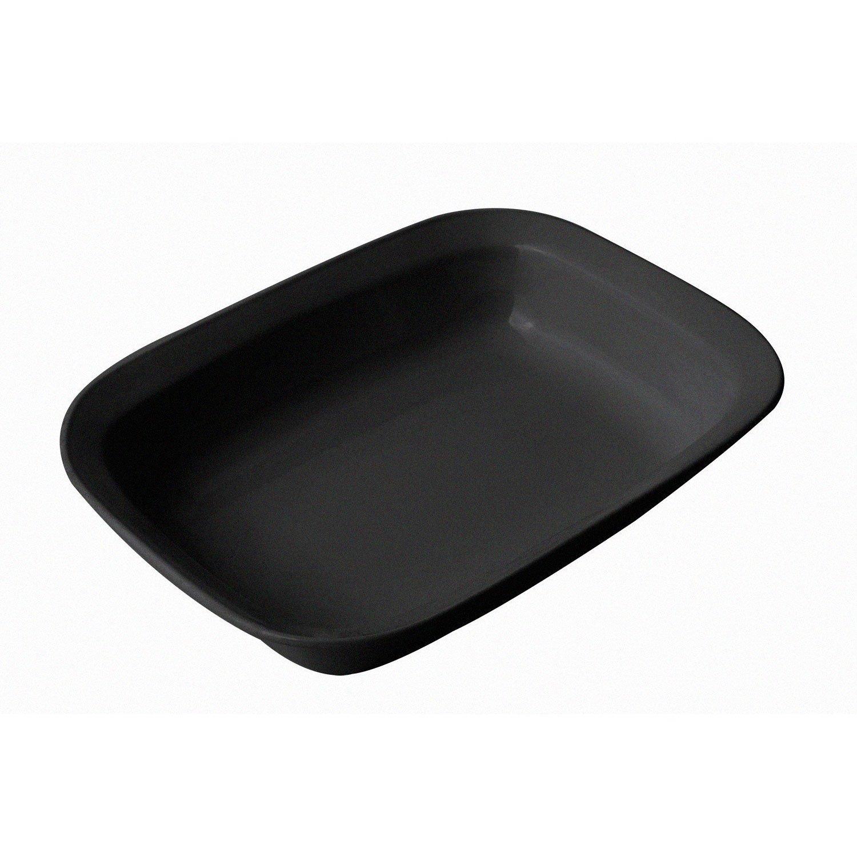 2 1/2 qt 9 3/4 x 12 3/4 x 2 1/2 H inch Server / Casserole Dish Sandstone Black Speckled