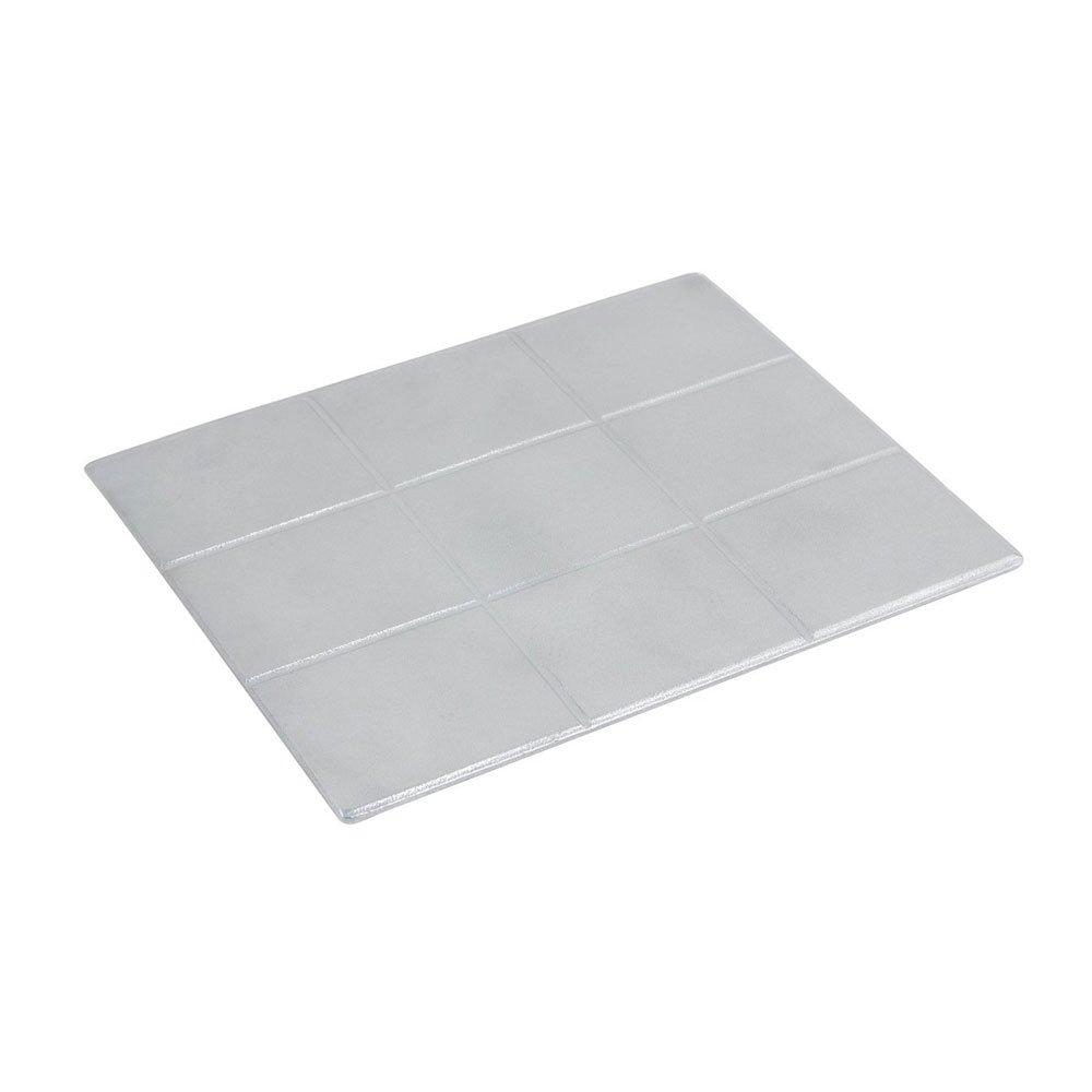 12 3/4 x 10 3/8 inch E Z Fit 1/2 Size Tile Dark Blue