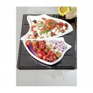 19 1/8 x 20 13/16 inch E Z Fit Futura 1 1/2 Tile for 2 70006 and 1 70009 Pewter Glo Black