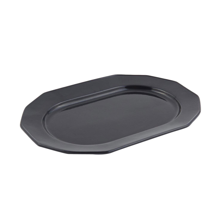 9 7/8 x 14 1/4 inch Prism Tray Sandstone Black Speckled