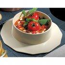5 qt 12 oz Soup Bowl with Collar Sandstone White