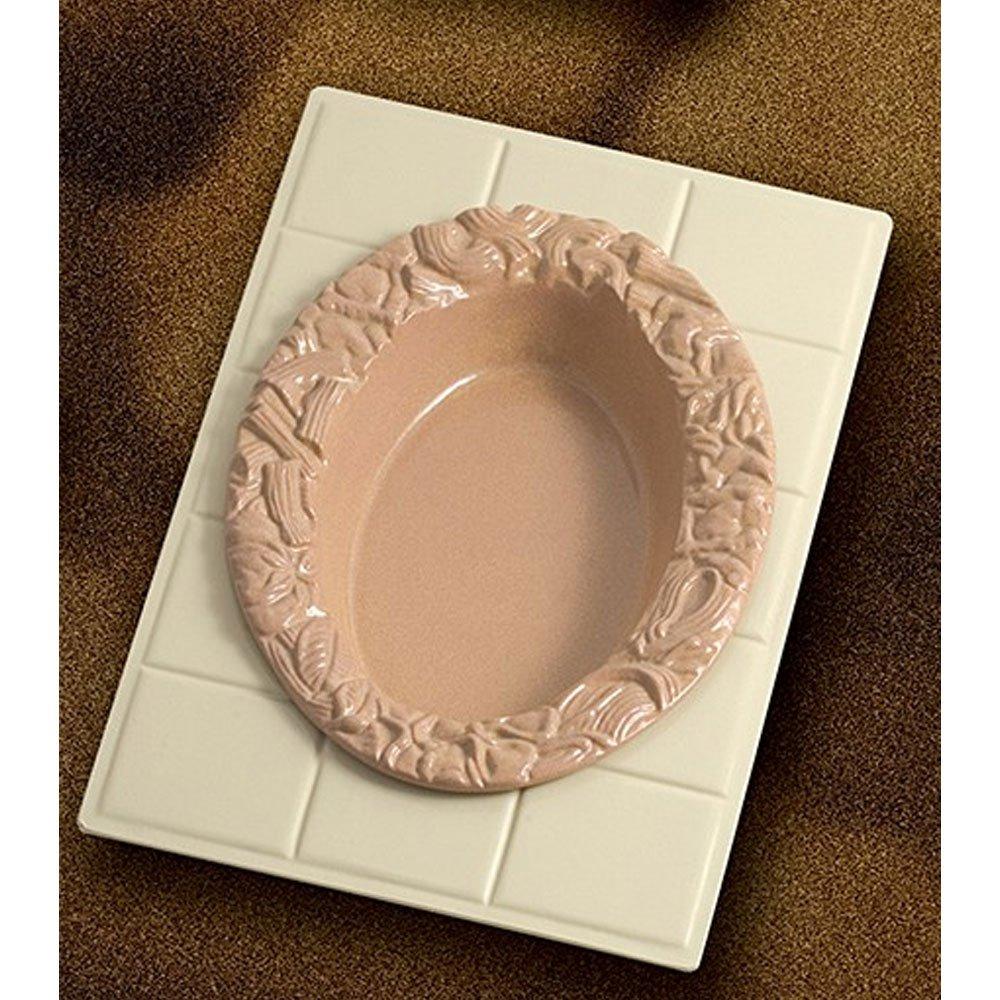 13 1/8 x 21 3/8 inch Custom Cut Tile for 5500 Sandstone White