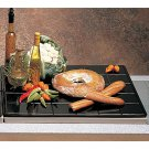 27 x 21 1/2 inch Double Size Tile Tray Sandstone Black Speckled