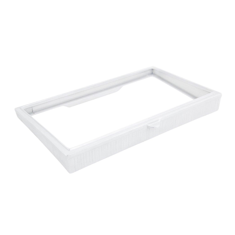 21 5/8 x 13 1/4 x 2 3/8 inch Side Angle Riser Sandstone White