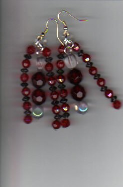 Red,Black,&Clear