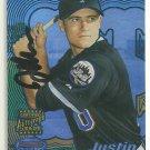 2002 Bowman's Best Autograph #176 Justin Huber RC