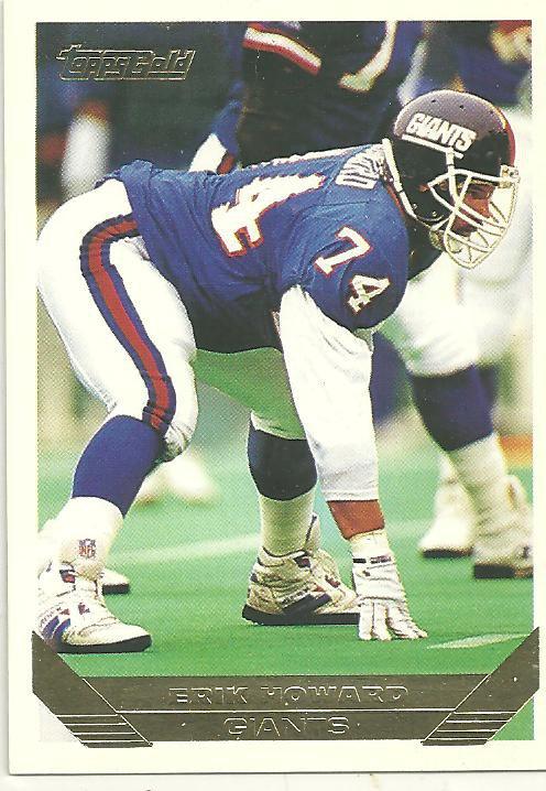 1993 Topps Gold #52 Erik Howard