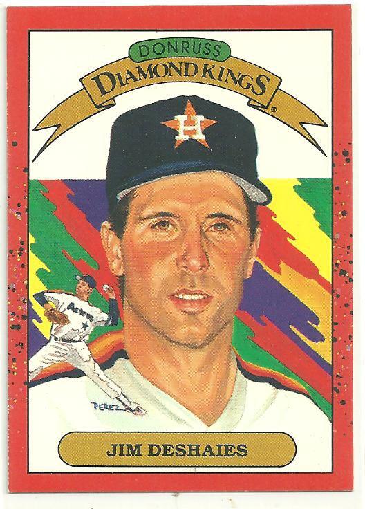 1990 Donruss #7 Jim Deshaies DK
