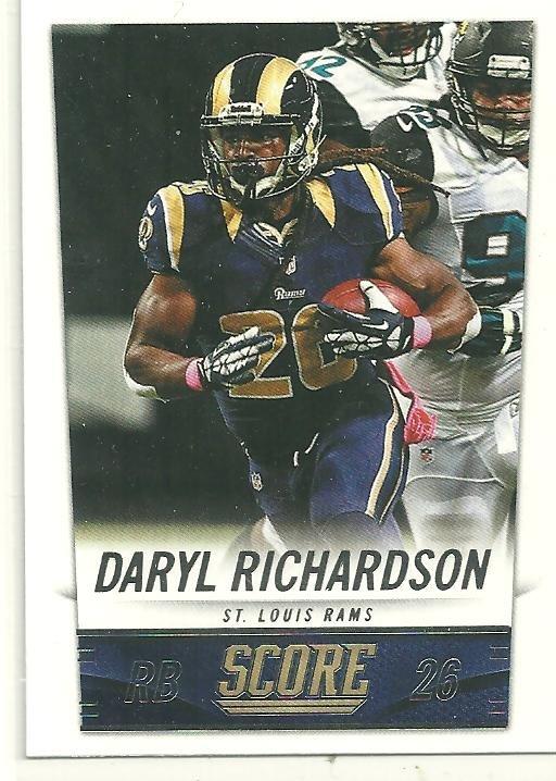 2014 Score #206 Daryl Richardson