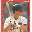 1990 Donruss #451 Bob Melvin
