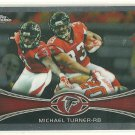 2012 Topps Chrome #130 Michael Turner