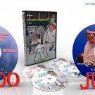 Judo collection 6 DVD 341min. H.Katanishi + K.Kashiwazaki (Disc only).