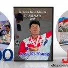 Judo collection 3DVD. South Korea. Jeon Ki-young+ 2DVD (Disc only).
