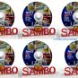 32th World Cup. Sports and combat sambo.6 DVD (Disc only).