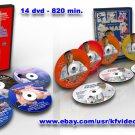 Judo collection:Hiroshi Katanishi 10DVD + 5 DVD Katsuhiko Kashiwazaki 820 min.