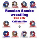 """""""Russian Sambo"""" -10 dvd collection. 720 min.(Disc only)."""