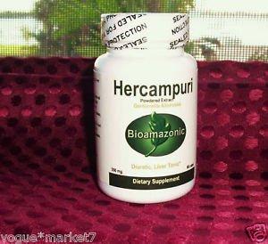 HERCAMPURI HERB organic BITTER TEA Liver Tonic Burn-Fat Prevent Hangover 60 CAPS