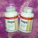 2 bottles HEPATOX capsules HERCAMPURI + CHANCA PIEDRA herb COMBO organic potent