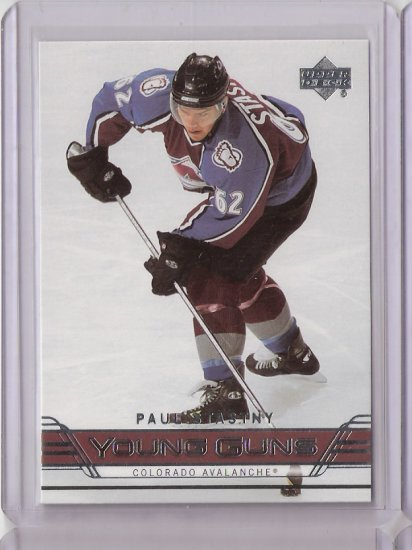 06-07 Upperdeck Young Guns Paul Stastny Rookie