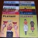 PLAYBOY 1959 MAGAZINES 12 ISSUES