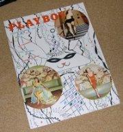 PLAYBOY 1955  JANUARY MAGAZINE BETTY PAGE