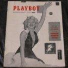 Monroe V. 1 Playboy 1953 Magazine First Issue