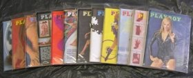 PLAYBOY 1971 MAGAZINES 12 ISSUES