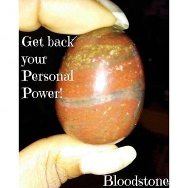 "Blood Stone ""Yoni"" Egg Kegel Exerciser Medium Free US Shipping"