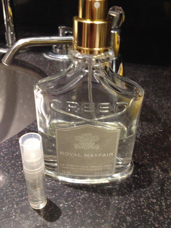 CREED ROYAL MAYFAIR Eau De Parfum - 1.7 ml Sample Spray Atomizer - 100% Authentic