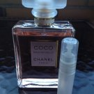 CHANEL COCO MADEMOISELLE PERFUME 5 ml Sample Spray Atomizer - 100% authentic