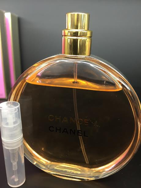 CHANEL CHANCE EAU DE PARFUM - 1.7 ml Perfume Sample Spray Atomizer - 100% Authentic