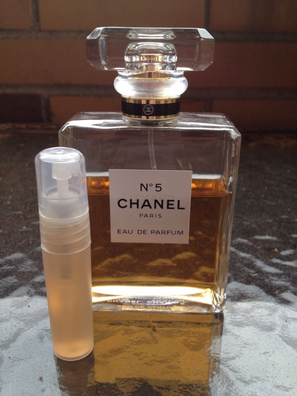 CHANEL NO 5 EAU DE PARFUM- 5 ml Perfume Sample Spray Atomizer - 100% Authentic