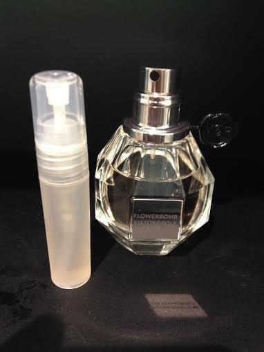 VIKTOR & ROLF FLOWERBOMB PERFUME  - 5 ml Sample Spray Atomizer - 100% Authentic