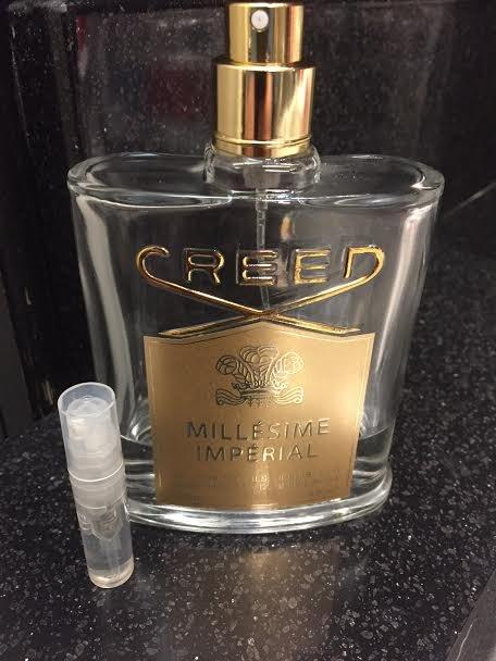 CREED MILLESIME IMPERIAL Eau De Parfum-ONE 1.7 ml Sample Spray Atomizers, 100% Authentic