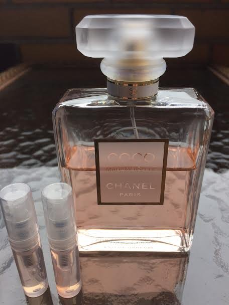 CHANEL COCO MADEMOISELLE PERFUME- TWO 1.7 ml Sample Spray Atomizers - 100% Authentic