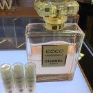 *NEW* CHANEL COCO MADEMOISELLE EAU DE PARFUM INTENSE- THREE 1.7 ml Travel Atomizers 100% Authentic