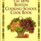 Fannie Farmer 1896 BOSTON COOKING-SCHOOL 1st ed repub