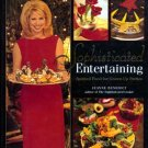 SOPHISTICATED ENTERTAINING Jeanne Benedict HC/DJ