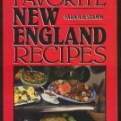 1990 FAVORITE NEW ENGLAND RECIPES Stamm 2nd Ed HC/DJ