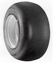 18x9.50-8 Carlisle SMOOTH TIRE Round Shoulder
