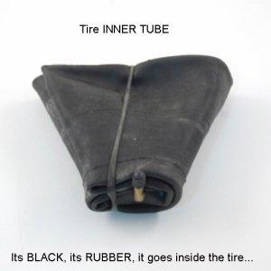 GR13/14/15 Radial Tire Inner Tube - fix that flat or slow leak!