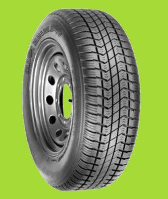 205/75D15 LRC (6 ply) Solid Trac NON-RADIAL Trailer Tire (F/78-15ST) FREE SHIPPING