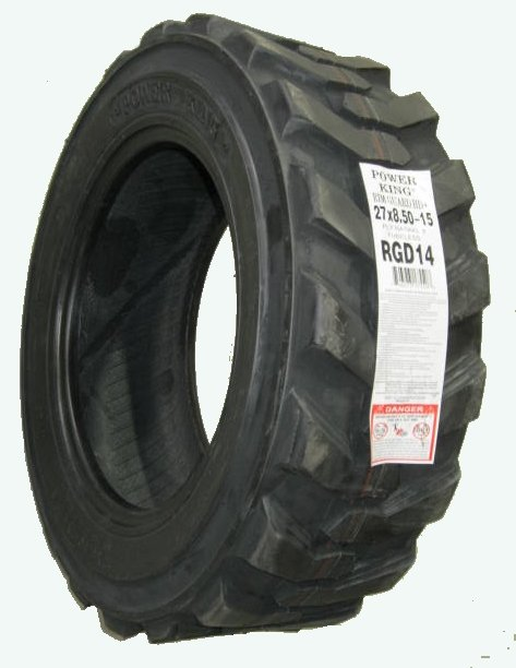 27x8.50-15 LRD Skid Steer R4 loader lug tire Power King FREE SHIPPING!