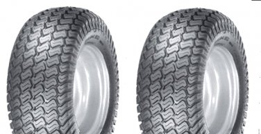 TWO 15x6.00-6 4 ply TRAC GUARD GARDEN TRACTOR Turf tires -  Free Shipping