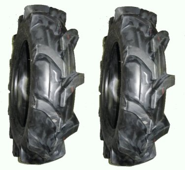 TWO 7-16 6 ply Ag Lug TRACTOR TIRES  w/TUBES - new and with FREE SHIPPING!