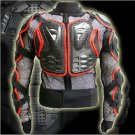 Free Shipping Man Off Road Motorcycle Armor Protector Jacket Racing Black Red